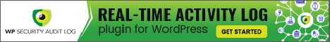 WP Security Audit Log - The most comprehensive activity log plugin for WordPress